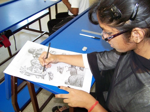 The students appreciated the college for offering different opportunities in view of nurturing the creative imaginative and innovative minds so that
